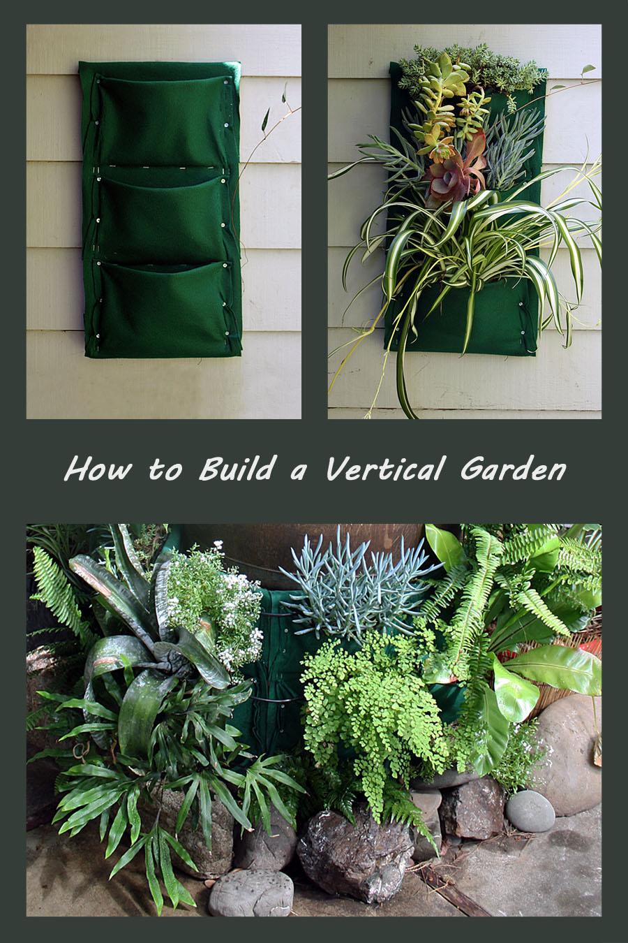 how to build a vertical garden jesse garden
