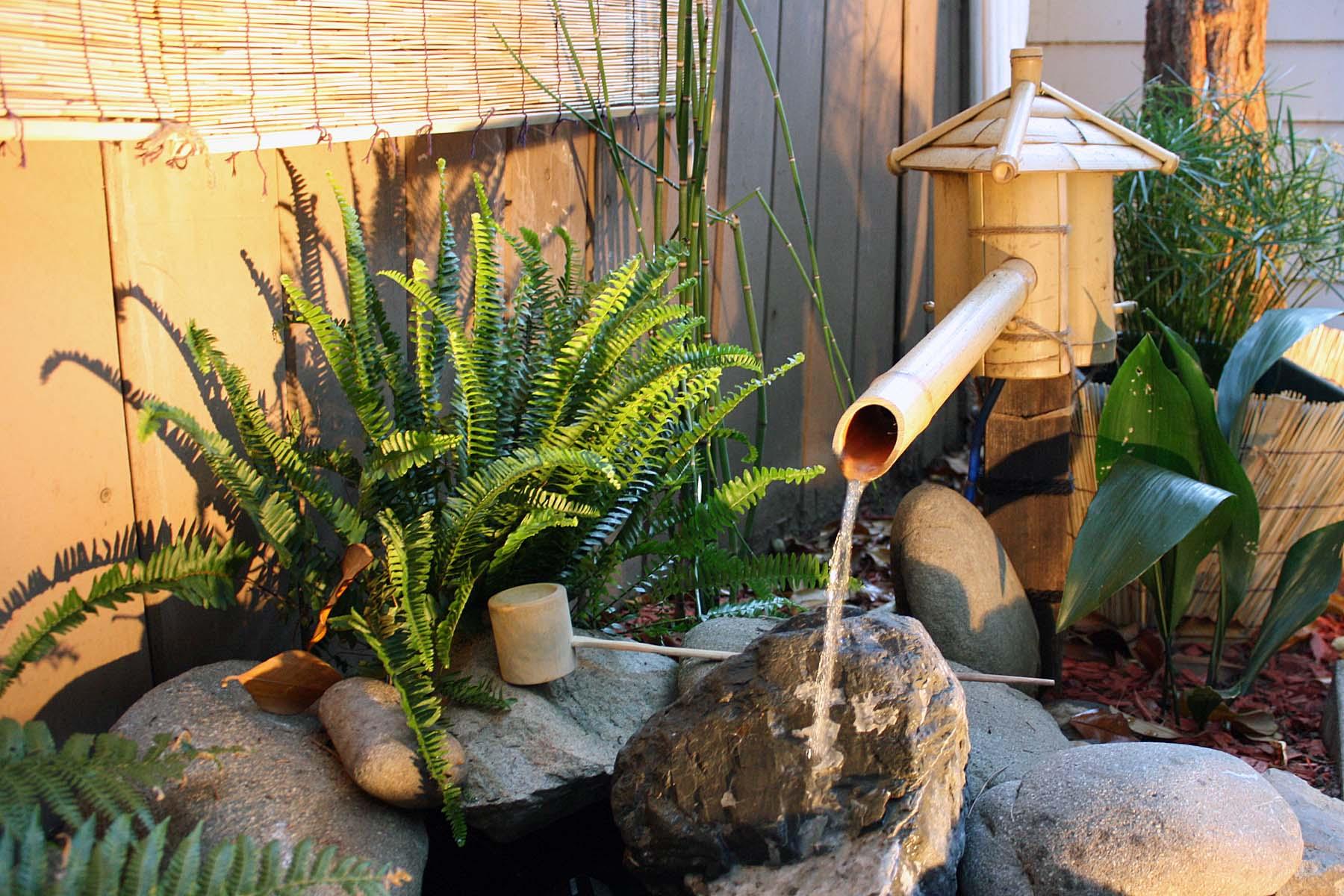 Bamboo Fountains | jesse garden