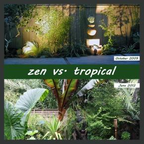 before & after garden design